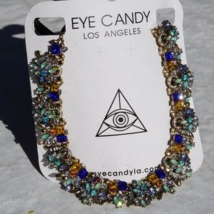Multi-Color Bib Necklace